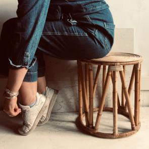 rediscova bamboo stool