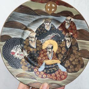 rediscova Japanese satsuma large plate