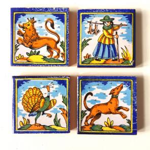 rediscova 4 Spanish tiles