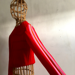 vintage bamboo mannequin