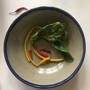 rediscova midnight blue Artisan serving bowl