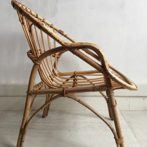 Rediscova vintage bamboo chair