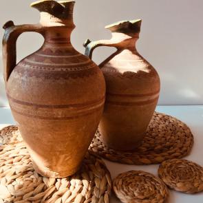 rediscova terracotta urn