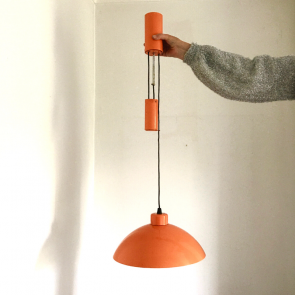 Orange pendant light rediscova